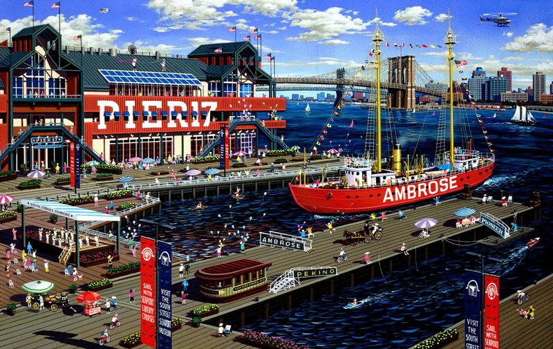 South Street Seaport - New York City Tours