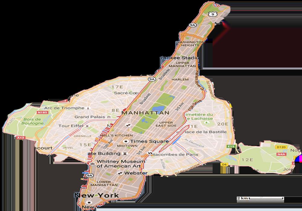 Attention, New York est immense.