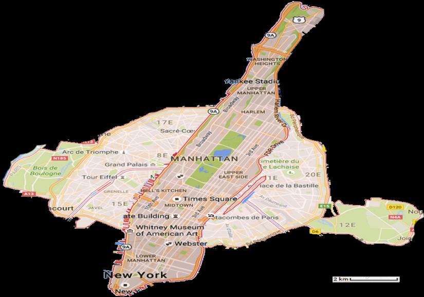 New York est immense