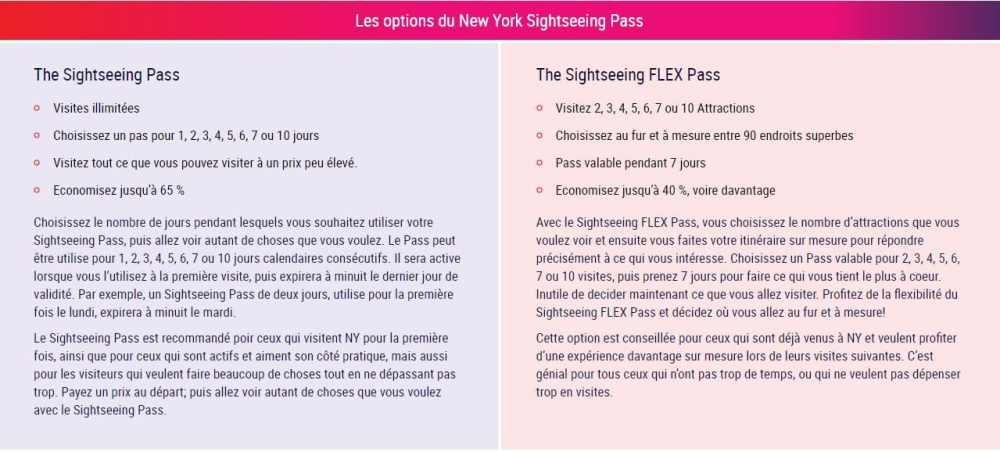 pass,visite,Choix,prix,économies,attractions,citypass,C3,explorer,sightseeing,flexpass