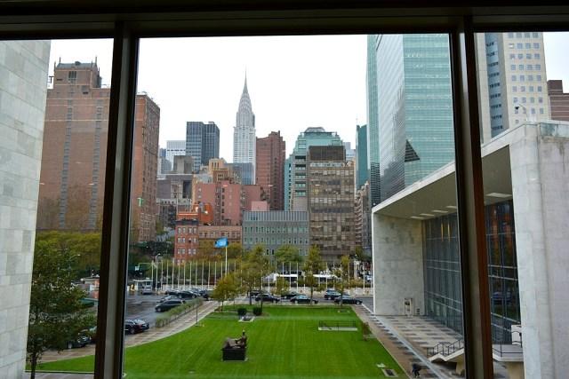 L'ONU à New York, un lieu à visiter.