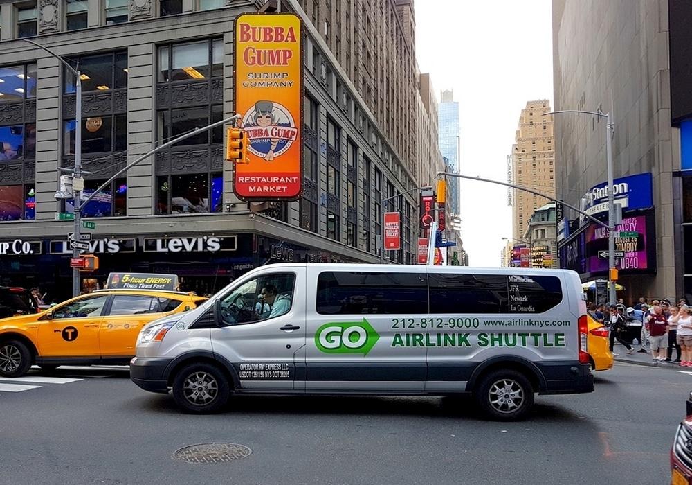 Le shuttle, le transfert idéal entre Aéroports et Hôtels de Manhattan.