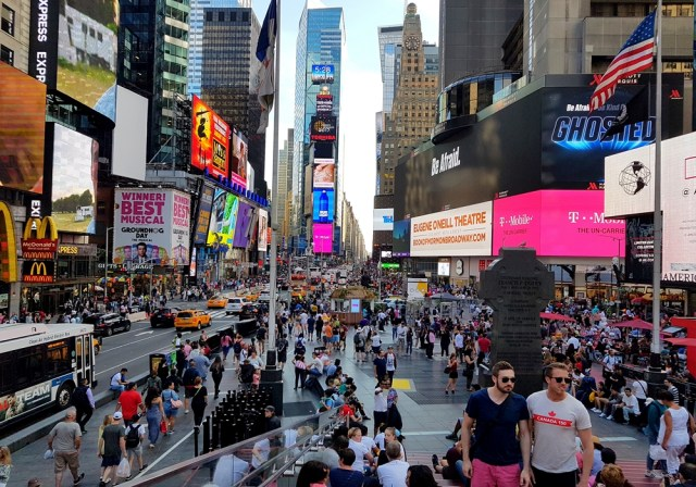 Times Square, la folie au cœur de New York