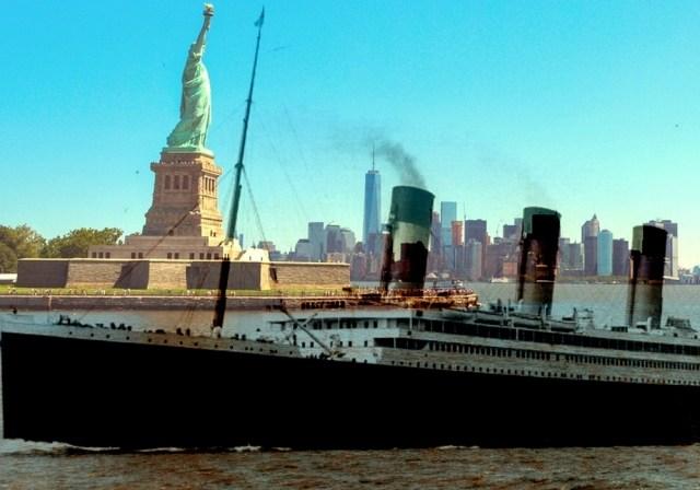 Le saviez-vous ? Le quai du Titanic reste figé dans le temps à Manhattan.