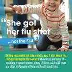 "2016-2017 Season Flu Shot Awareness Campaign: ""I Got My Flu Shot...Not The Flu"""
