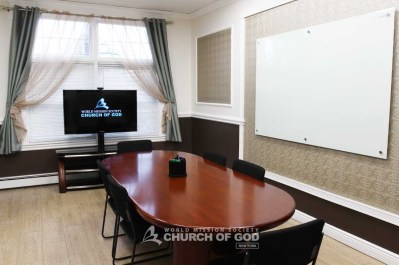 World Mission Society Church of God in Long Island Conference Room