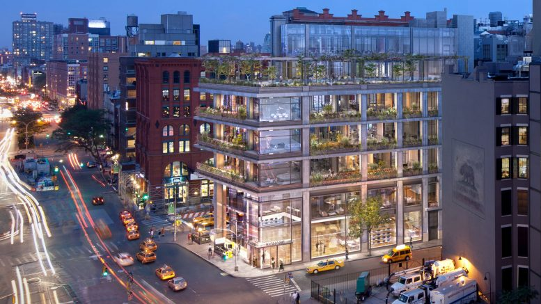 COOKFOXDesigned 300 Lafayette Street Making Headway in