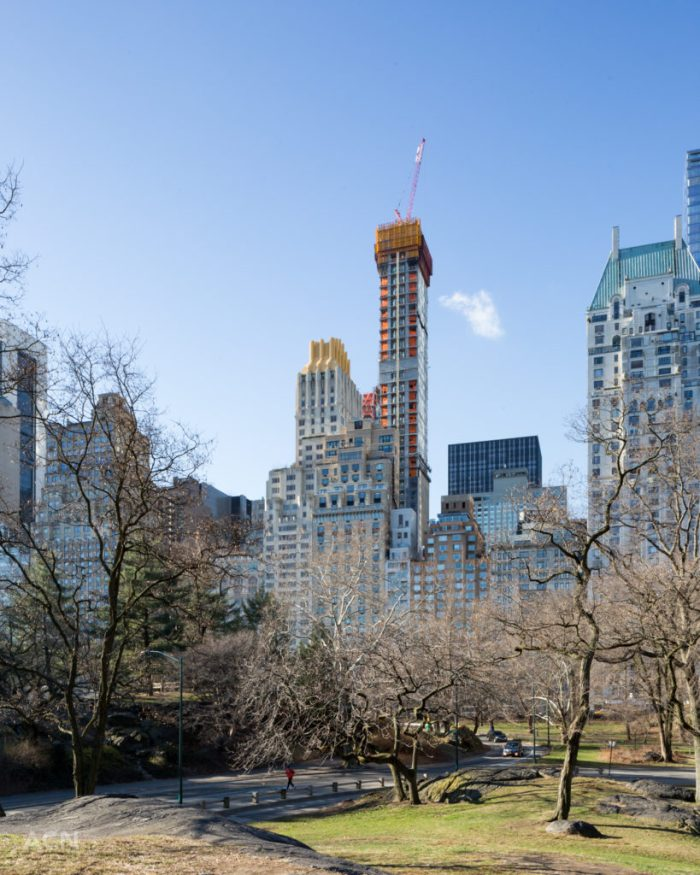111 West 57th Street from Central Park, image by Andrew Campbell Nelson