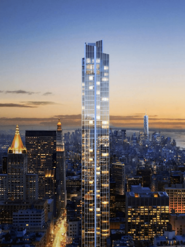 126 Madison Avenue Aka Madison House Tops Out 62 Stories