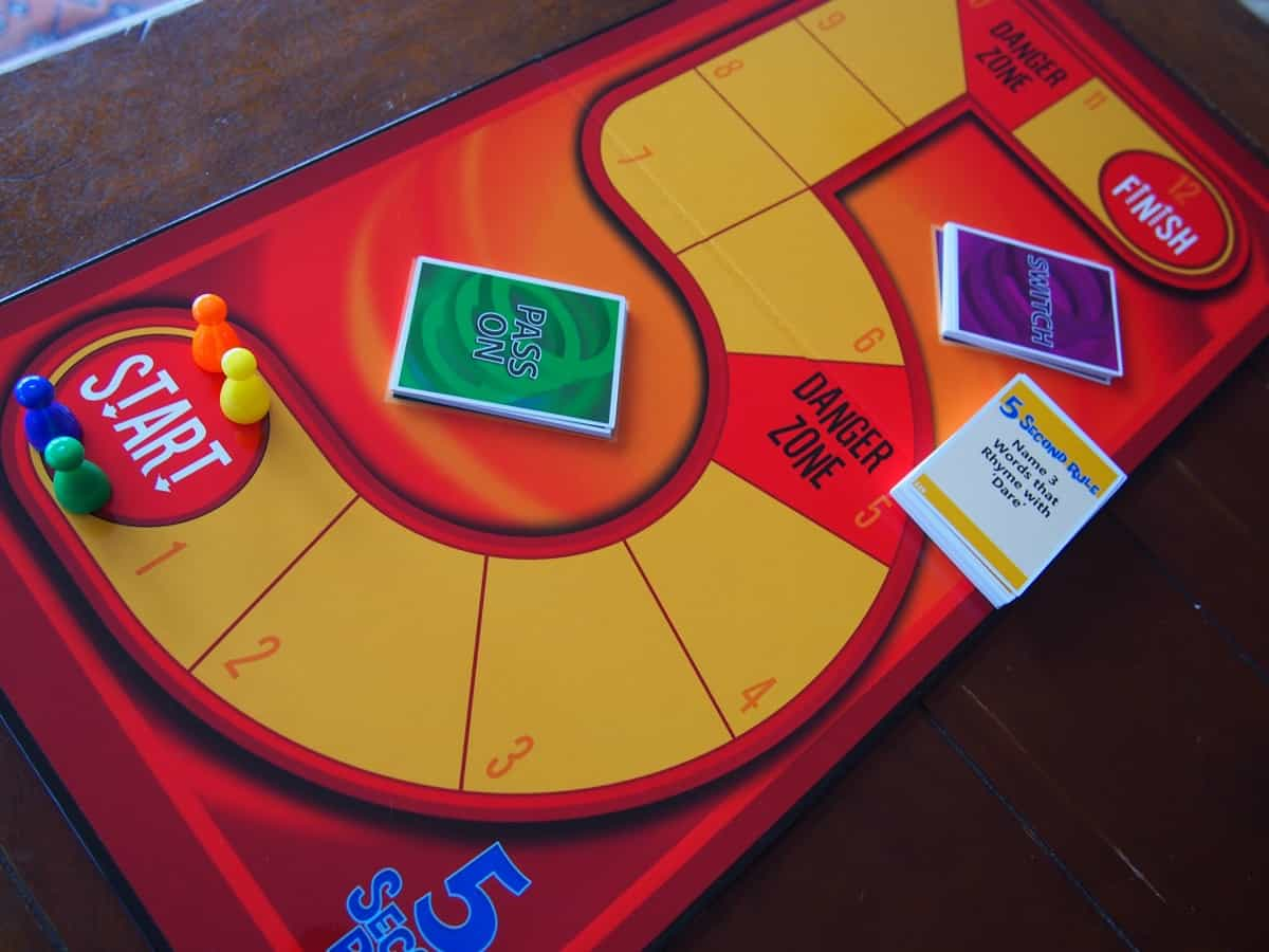 Think Fast Play The 5 Second Rule Board Game Newy With Kids