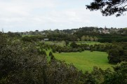 Ausblick über den Garten