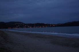 Abends am Strand von Whitianga