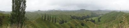 """Panorama über das """"Valley of Plenty"""""""