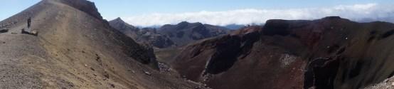 Panorama am Tongariro Crossing