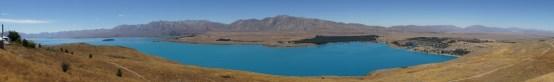 Lake Tekapo von der Sternwarte