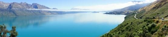 Panorama über Lake Wakatipu