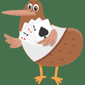 Kiwi playing video poker
