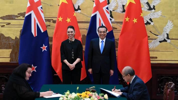 新西兰和中国达成升级版自贸协定的重点