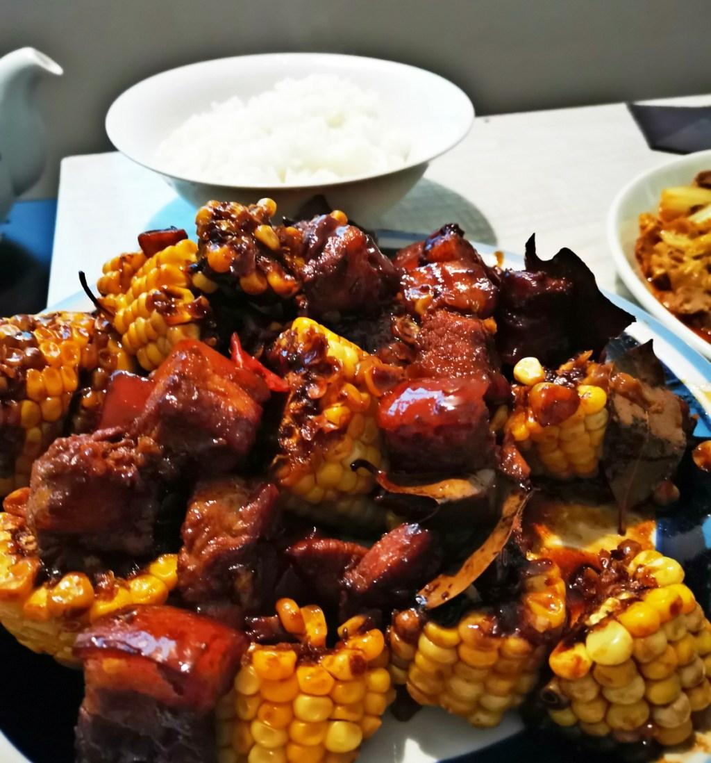 玉米🌽红烧肉
