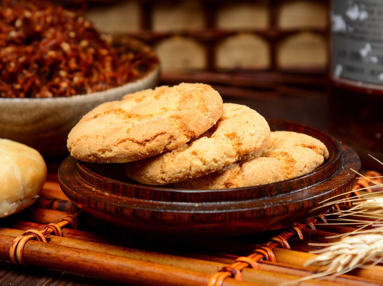 桃酥,酥掉渣的传统中式点心