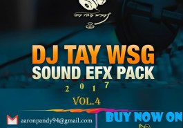 DJ TAY WSG - SOUND EFX PACK VOL. 4 (EFX 2017) 10