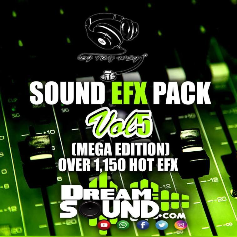 DJ TAY WSG - SOUND EFX PACK VOL. 5 (EFX 2018) 1