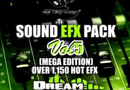 DJ TAY WSG - SOUND EFX PACK VOL. 5 (EFX 2018) 2