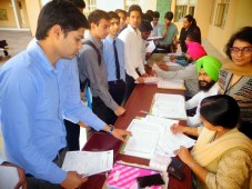 Indian Army's Placement Drive organized at Indo global Colleges