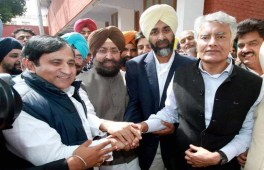 Manpreet Badal merges his party with Congress