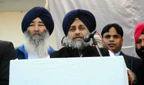 Congress and AAP had exposed themselves by running away from the Khadoor Sahib by poll says Sukhbir Singh Badal