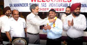 Monthly house meeting of Property Consultants Association (regd.) Chandigarh held