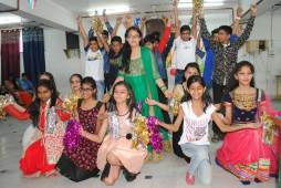Farewell Party Organized at CRB Public School