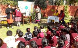 C.L. Aggarwal D.A.V. Model School Celebrated Science Day