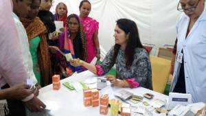 Free medical checkup camp organized by ASHI in association with Rotary Club Chandigarh