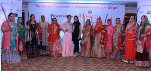 Women With An Edge   Chandigarh Fashion Show by Saransh for Women Empowerment