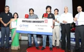 """Battle of brains at business quiz """"QuestIONS"""" held at Chitkara"""