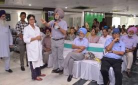 Senior citizens lead the way with Organ Donation pledges