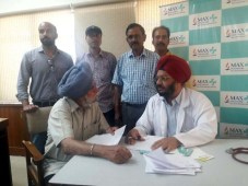 Max Hospital free health camp held in Patiala