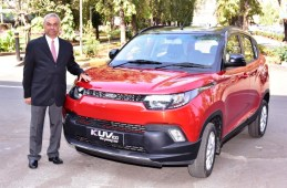 Mahindra announces a more stylish avatar of the KUV100 on its 1st anniversary