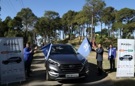 Hyundai Flags-off The 'Tucson Great India Drive 2017' at McLeodganj