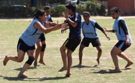 Chandigarh girls' team defeats Gujarat in Sr National Circle Kabaddi Championship