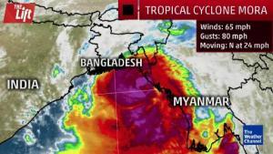 Cyclone Mora hits Bangladesh, heavy rains expected in North-east, Here's What You Need to Know