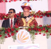 President of India Attends 8th Convocation of Lovely Professional University
