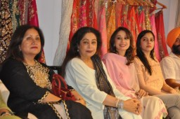 Jaamawar Minx's collection launched in a Fashion Show with Kirron Kher