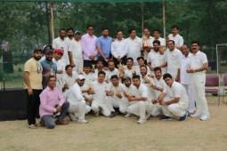 Haryana Journalist Sports Club Beats Property Dealers & Builders Association in T20 Match