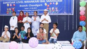 Children presented spiritual programmes at the Nirankari Bal Samagam