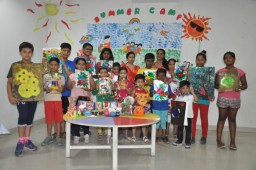 Summer camp concludes at Brilliance World School