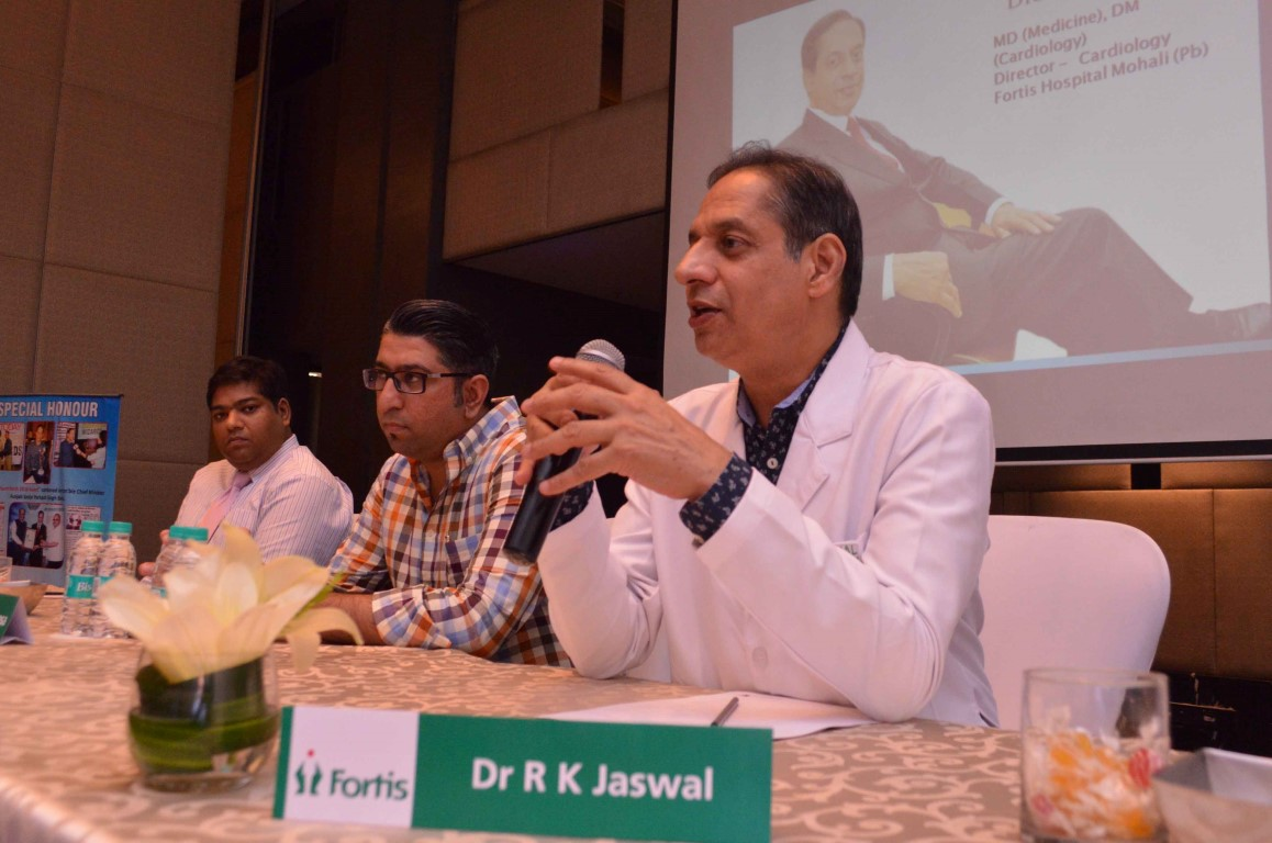 Doctor from Fortis Hospital successfully trains South African Doctor in rare Transradial Intervention Approach