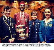 Wellington's Manraj to learn international diplomacy in Global Development Tour 2018