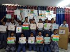 CRB School Celebrates Hindi Diwas
